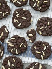 Fixed on Fresh - Chocolate Almond Butter Cookies {Gluten Free - Dairy Free}