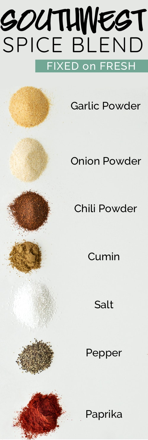 A blend of 7 spices that make chicken, pork, or veggies taste even better. Have it ready in your spice cabinet all the time!