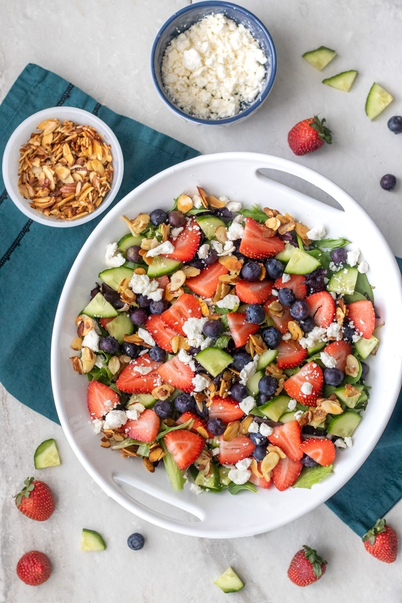 Spring Strawberry Salad - Fixed on Fresh