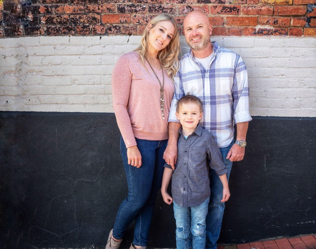 Full family photo
